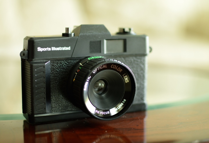 Thrift Store Find: Sports Illustrated 35mm Promotional Camera